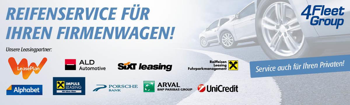 4Fleet - Reifenservice für Ihren Firmenwagen